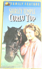 Curly Top Classic Shirley Temple VHS Tape! Nice See!