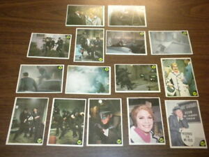 15 GREEN HORNET cards Greenway/Donruss 1966 Printed in U.S.A. - ABC TV lot