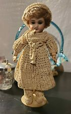 """10.5"""" Antique French SFBJ 301 Bisque Head Size 0 Beautiful Paris Doll"""