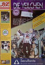 Programm 1998/99 Tennis Borussia Berlin - FC Gütersloh