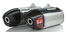 Yoshimura Honda CRF250R 2014-17 Signature RS-9 Dual Slip-On Exhaust SS-AL-CF