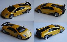 BBURAGO-LAMBORGHINI MURCIELAGO LP 670-4 SV gelbmet. 1:32 modello di auto