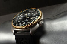 SEIKO NEW TURTLE CUSTOM BEZEL - THE.SUPER.COIN.ONE - GOLD- NTD-4-G