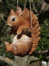 Eichhörnchen Deko Figur hängend  lebensgroß Baby Garten Figur NEU