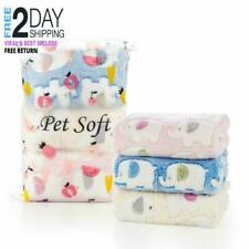 Pet Soft Cat Puppy Blanket - Dog Blankets for Small Dogs, Cute Little Pet Throw