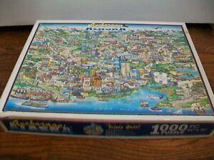 "1000 piece Puzzle - Cooper Maps 2002 Anchorage Alaska 24"" x 36"""