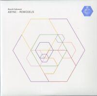 RYUICHI SAKAMOTO-ASYNC - REMODELS-JAPAN 2 LP BONUS TRACK Ltd/Ed O23