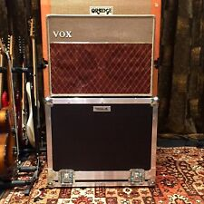 Vintage 1962 Vox AC10 Twin 2x10 Goodman JMI Original Fawn Beige Amplifier & Case