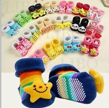 Newborn Baby Girl Boy Unisex Cotton Anti-slip Sock Animal Soft Shoe 0-6 Month