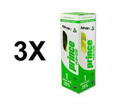 3X PRINCE 7G320100080 - Boîte de 3 Balles Tennis Play + Stay Stage 1  *NEUF*