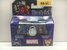 MINT! MINIMATES CAPTAIN AMERICA & SCARLET WITCH MARVEL TRU SERIES 16 MM60