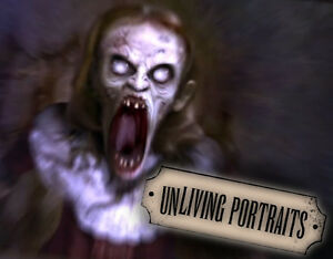 Unliving Portraits DVD Halloween Special FX Projector Animations AtmosfearFX