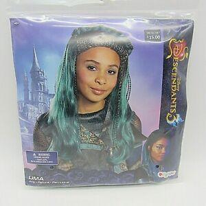 UMA / Disney Descendants 3 / Child Costume Wig / Cosplay Disguise 20676 / Green