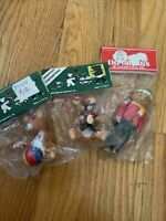 Midwest Importers 1983-85 Ornament Teddybears Brand New In Package! Christmas