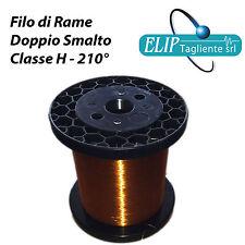 Filo di rame smaltato diametro da ø 0,63 mm a ø 2,65 bobina diversi kg