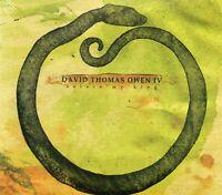 David Thomas Owen IV - Solace My King (2008 CD) New & Sealed