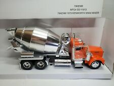 Kenworth W900 Mixer Truck, 1:32 Diecast Collectible By NATIONAL MOTOR  MINT
