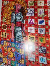 Psychedlic  L. S. D.  BARBIE--Original Blotter Art Poster !!!!