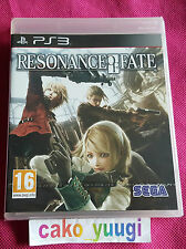 Resonance of Fate - jeux Ps3 / sans notice
