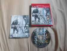 Crysis 2 -- Limited Edition (Sony PlayStation 3, 2011) - PS3 - Excellent Disc