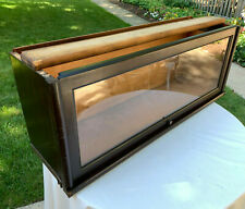 """Antique Macey Barrister Bookcase 1 Section Mahogany Finish 13"""" Tall #3"""
