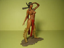 SUMATI   1/18  PAINTED  FIGURE  MADE   BY  VROOM  FOR  DEMANDING  COLLECTORS