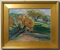 JOSE TRUJILLO FRAMED ART AMERICAN IMPRESSIONISM PLEIN AIR OIL PAINTING HILLS