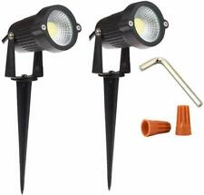 Onerbuy 12V Outdoor LED Lawn Light Lamps Landscape Spotlight 5W COB Garden Patio