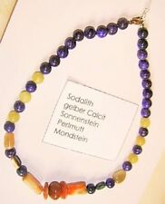 Natürliche Echtschmuck-Halsketten Mondstein