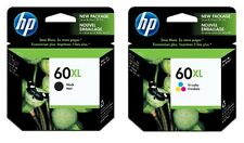 HP 60XL OEM Ink Cartridge 2-Pack (Includes Black and Tri-Color)