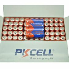 100PC Alkaline AA Batteries 1.5V LR6 Single Use Remote Double A Battey PKCELL US