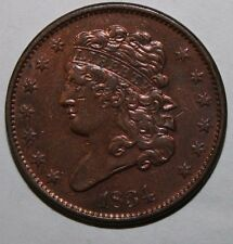 1834 US Half Cent V42