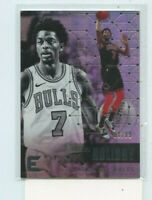 JUSTIN HOLIDAY 2017-18 Panini Essentials Silver Rookie Card #D /99