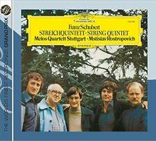 Rostropovich - Schubert: String Qnt (NEW CD)