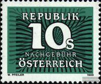 Österreich P267 (kompl.Ausg.) postfrisch 1989 Portomarke