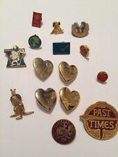 15x pin badge bundle/ variousKangaroo Past Times Variety Club Calgary Vernon