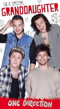 ONE DIRECTION TO A SPECIAL GRANDDAUGHTER CHRISTMAS CARD NEW GIFT