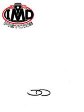 SUZUKI RM125 PISTON PIN CIRCLIPS (2) RM125 1979 - 1987 CW14