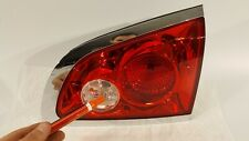2008-2012 BUICK ENCLAVE TAILLIGHT PASSENGER RIGHT INNER HALOGEN 08-12 OEM CRACK!