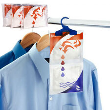 Hanging Interior Wardrobe DEHUMIDIFIER Clothes Damp Mould Moisture Stop Trap Bag
