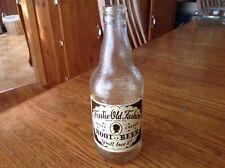 Vintage Frostie Old Fashion Root Beer 12 Oz. Glass Soda Bottle