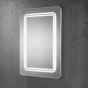 Shannon - Soft Edge Diffused LED Mirror - Branded