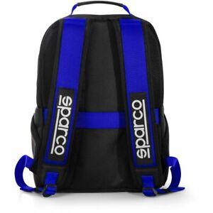 Sparco Stage 16L Rucksack Backpack Black/Blue STOCK 2021