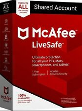 Mcafee Antivirus Subscription 5 years
