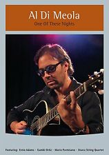 AL DI MEOLA-ONE OF THESE NIGHTS:PIANO-DRUM PERFORMANCE DVD BRAND NEW SEALED SALE