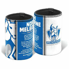 North Melbourne Kangaroos AFL Team Song Stubby Can Cooler