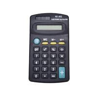 Pocket Mini 8Digit Electronic Calculator Battery Powered School HC