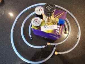 MIG / TIG Welding Gas Regulator with various length Hobby Welder Adaptor Hose