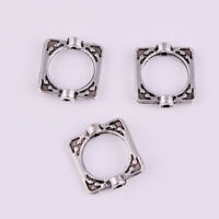 Wholesale Tibetan silver Loose Spacer Beads Frame DIY Jewelry Findings 16x14mm