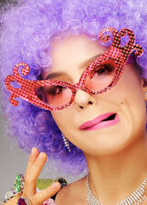 Dame Edna Everage Style Novelty Large Glasses Shades Yellow Sunglasses Carnival